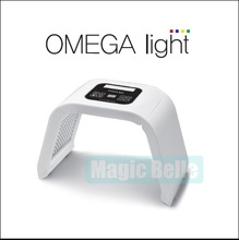 CE Certificated 4-color LED light therapy machine / Omega LED rejuvenation beauty mask suitable for home use(China)