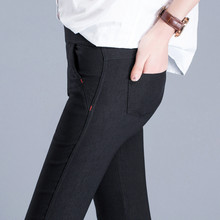 Fashion Women Casual Slim Stretch Denim Jeans Leggings Jeggings Pencil Pants Thin Skinny Leggings Jeans Womens Clothing Up Pants(China)