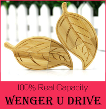 Wooden/Bamboo Leaves pen drive 256GB USB Flash Drive 512GB Natural Bamboo USB Flashdrive 64GB 32GB 16GB 8GB memory stick 128GB