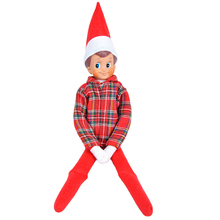 E-TING Clothes For Dolls Claus Couture Clothing for Elf on the Shelf Long Sleeved T-shirt Boys Suit  Doll is not included