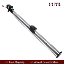 Free Shipping Right price 600mm movement length motorized linear slide for cnc(China)