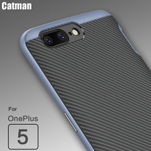 oneplus 5 case hard back cover super protection PC+TPU bumper armor case original catman brand for oneplus 5 one plus 5 cases