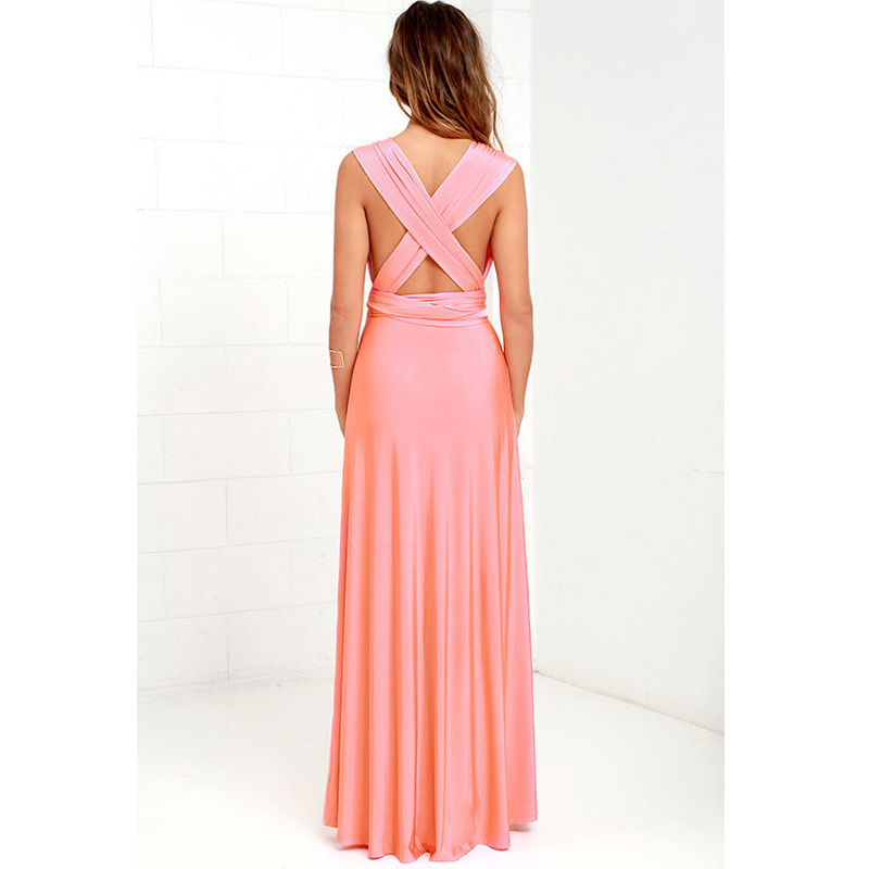 Bandage Long Dress