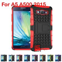 Cool Armor Rugged Hybrid Heavy Duty Hard PC Plastic TPU Rubber ShockProof Phone Case Cover Bag For Samsung Galaxy A5 A500 2015