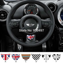 Newest Car Decal Steering Wheel Customized  Made Decal Set  For MIni Cooper  Clubman Roadster Countryman Paceman Coupe jcw