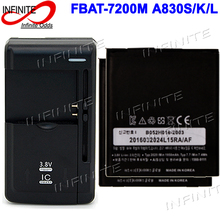 2 x BAT-7200M Battery For SKY PANTECH Vega Racer 2 IM-A830S IM-A830L IM-A830SP A830S A830L Accumulator + Universal Charger(China)