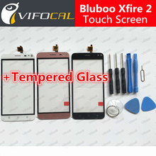 Bluboo Xfire 2 touch screen + Tools Set Gift 100% New Digitizer glass panel Assembly Replacement for cell phone