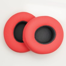 1 Pair Pink Soft Foam Earpads Replacement Ear Pads Sponge Cushion Cover for Beats Solo2 Headset Headphones(China)
