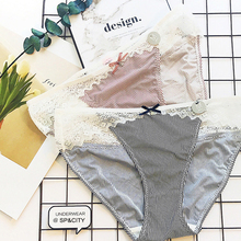 Buy SP&CITY Lace Panties String Seamless Briefs Crotch Cotton Ladies Panties Hollow Women Underwear Sexy Lingerie String Thongs