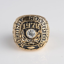 Replica National College 1973 Alabama Crimson Tide  High Quality Championship Ring Size 11