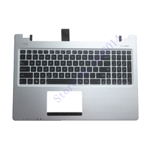 US Laptop Keyboard For ASUS K56 k56C K56CB K56CM K56CA A56 A56C S56C S56 English keyboard Palm rest