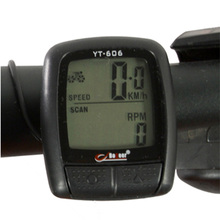Waterproof LCD Cycling Computer 13 Vital Functions Bike Speedometer Multifunction Mountain Road MTB Bicycle Accessories Odometer(China)