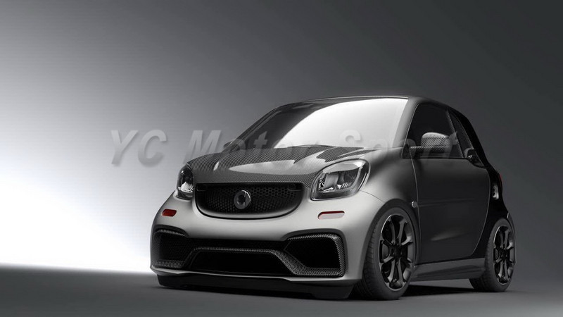 2015-2017 Smart Fortwo C453 & Forfour W453 AMG Style Body Kit FRP (4)