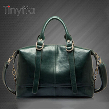 Tinyffa Boston Women bag ladies women Messenger bags for women vintage designer handbags high quality famous brands tote bag(China)