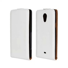 Luxury Genuine Real Leather Case Flip Cover Mobile Phone Accessories Bag Retro Vertical For Sony LT30p Xperia T PS(China)