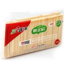 900 Pcs Bags bamboo Oral Wooden toothpick Care(China)