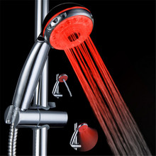 54pcs/lot free shipping single Red color water glow shower electronic gift items for men without battery(China)