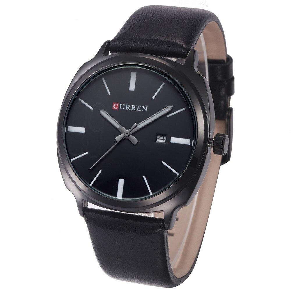 2016 Relojes Curren Mens Sports Quartz Watches Mens Watches Top Brand Luxury Leather Wristwatches Relogio Men Watches 8212<br><br>Aliexpress