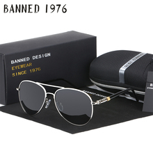 HD Polarized Sunglasses for Men Aviator Sunglasses Men for Driving Luxury Brand Coating mirror Sun Glasses male female Women(China)