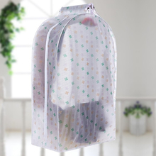 New Large Capacity Closet Hanging Dust Cover Suit Coat Clothes Protector Wardrobe Storage Case Home Organizer