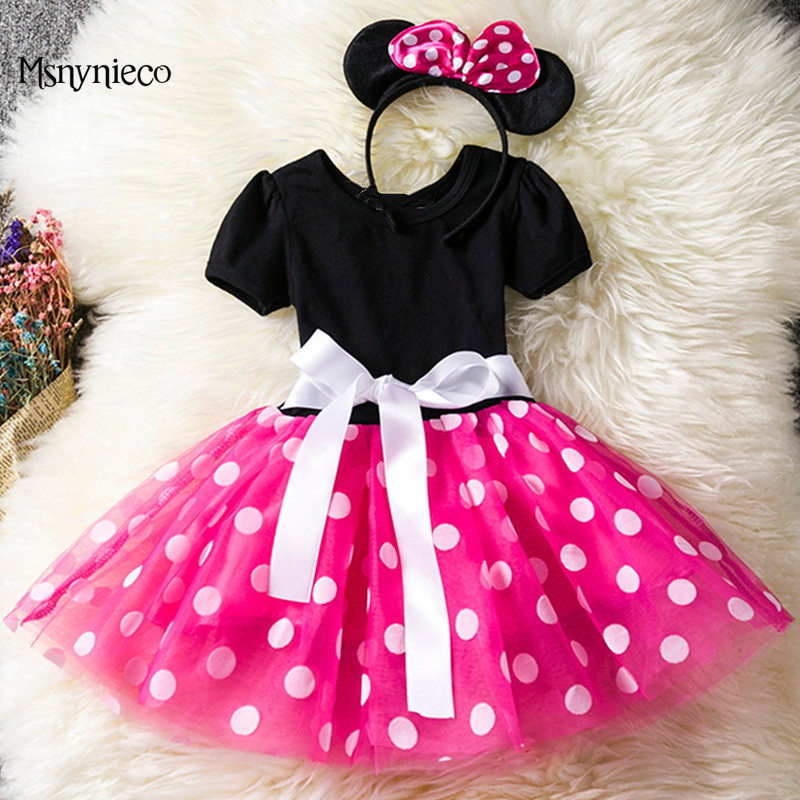 Infant Baby Girls Dress Kids Clothes Children Christmas Dress 2018 Brand Princess Girls Party Dresses for 1-5Years vestidos<br>