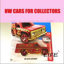 Buy Toy cars Hot Wheels 1:64 hw rapid responder Car Models Metal Diecast Cars Collection Kids Toys Vehicle Children for $3.55 in AliExpress store