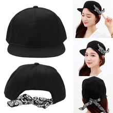 Cap Bandanna Headband Snapback Hat Unisex Hip Hop Bboy Cap  2017 New Hot Sale DM#6