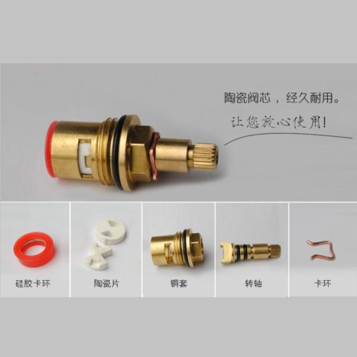Thickening copper faxin washing machine mop pool triangle valve ceramic plate faxin single-taps<br><br>Aliexpress