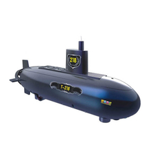 Free shipping Electric Remote Control Submarine Assembled Toy Educational Science Experiment Equipment Speed Racing Motorboat(China)