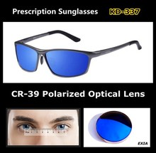 Polarized Prescription Sunglasses Male Top Quality Brand Eyewear EXIA OPTICAL KD-337