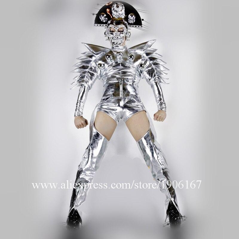 Nightclub DS Silver Star Costumes Men02