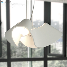 Vemma Nordic modern minimalist white head crane personality resin lamp children bedroom study room