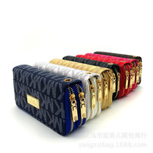 MK 03#Lovely Women's Lady's Fashion Leather Zipper Wallet Portable Multifunction Small Solid Color Wallets Women's Hot Wallet(China)