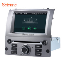 "Seicane 7 ""8 core Android 8,0 dvd-радио Bluetooth gps навигации для 2004-2010 peugeot 407 с wi-Fi AUX поддержка SD OBD DAB(China)"