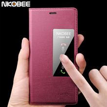 NKOBEE Luxury For huawei P9 P8 Case Flip Leather Mobile Phone Bag Case Accessories For huawei P9 case For huawei P8 Case cover