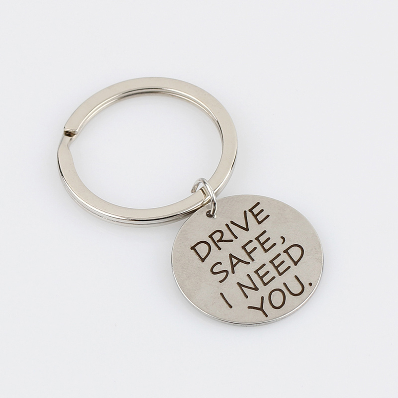 New-Letter-DRIVE-SAFE-I-NEED-YOU-Keyring-Charms-Keychain-Women-Men-Jewelry-Key-Chain-Car (3)
