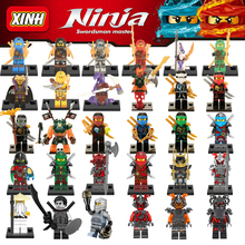 Building Blocks Compatible Legoinglys Ninjagoinglys Kai Jay Cole Zane Nya Lloyd With Weapons Action & Toy Figures Bricks