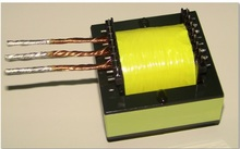EE65 above 2500W Ferrite Core large power SMPS high frequency transformer 8+8pin horizontal(China)