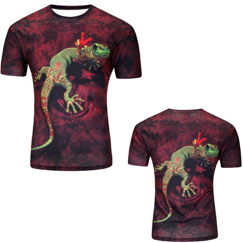 12 Color 3d print Lightning cat t shirt 7