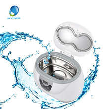 Skymen Mini 600ml Plastic Ultrasonic Cleaner Bath For Jewelry Watch Bottle Toothbrush Ring Parts Cleaning Tank(China)