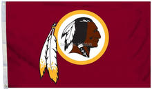 Washington Redskins Logo Flag with Grommets, 3 x 5-Foot