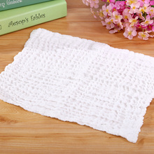 1 pc New Baby Kids Soft Bath Washing Handkerchief Towels Multi Colors Cotton Washcloth Wipe Hand Face Cloth 25*25cm(China)