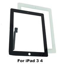 KEFU Tablet Touch Screen For ipad3 A1416 A1430 A1403 for iPad 4 A1458 A1459 A1460 Digitizer Glass Panel with Sticker + Tools