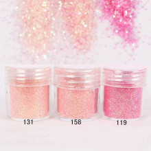 1 Box Nail Glitter Pink Shining Glitter Powder  DIY Decoration Sheets Tips Design Nail Art Glitter Paillette 8187539