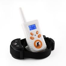 500M Rechargeable Diving Swimming Waterproof Blueback light Shock Vibra Remote Control Electric Dog Training Collar(China)
