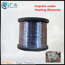 400mm impulse sealer spare parts hand sealer teflon belt + heat wire  0.5 wires (rounded wires) 20m,Heating wire heater element
