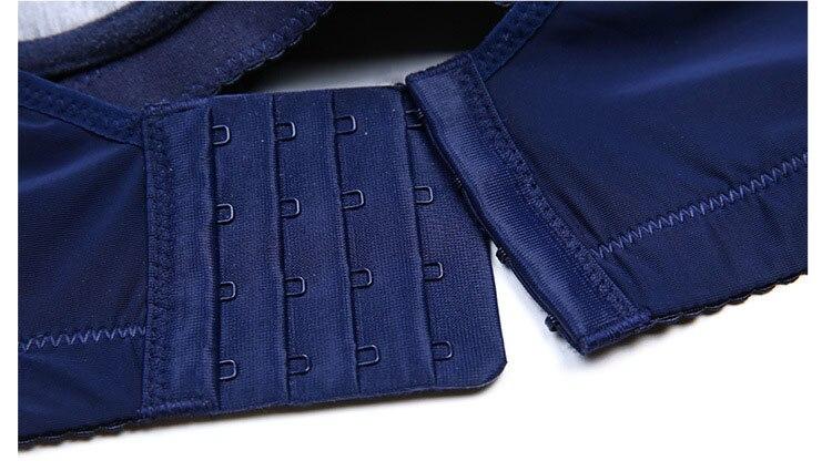 Jerrinut Lace Plus Large Big Size Push Up Bras For Women Wire Free Underwear Women Bralette Brassiere Femme Plus Size Bra 2