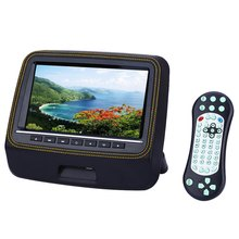 Car Headrest DVD Player 800 x 480 LCD Screen Backseat Monitor Full Functional Remote Control Super-slim XD9906 9 Inch Universal