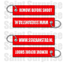 Customized remove Luggage Tag Label before flight Keychain for clients(China)