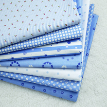 Rural Style  High Quality Printed 100% Twill Cotton Fabric DIY Handmade Materials Suit for Bed Sheet  Table Cloth Fabric